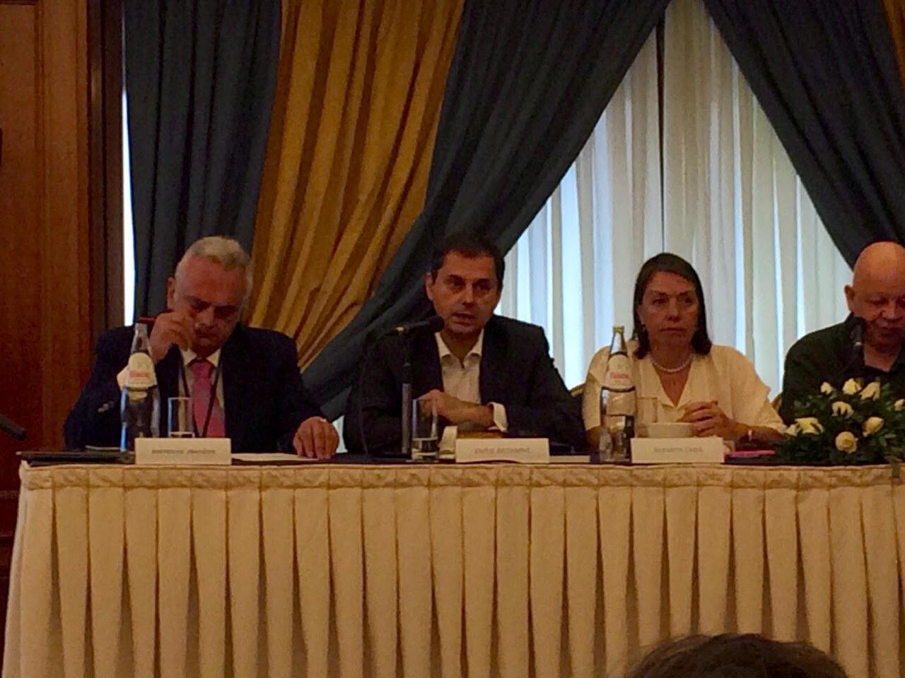 Συμμετοχή Χ.Θεοχάρη στο πλαίσιο του 4ου Τακτικού Συνεδρίου της «Δράσης» στη συζήτηση με θέμα «Μπορεί να ηττηθεί ο κρατισμός στην Ελλάδα;».