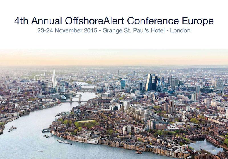 Offshorealert Conference London 2015 Web