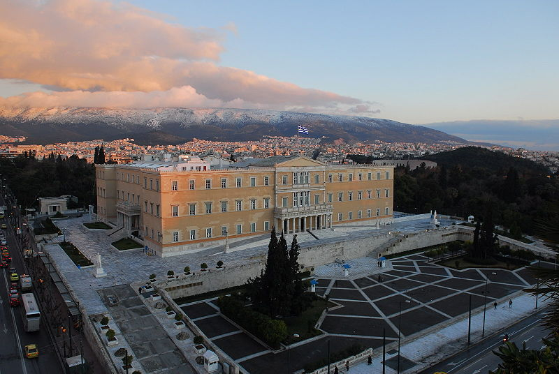 800px Hellenic Parliament From High Above
