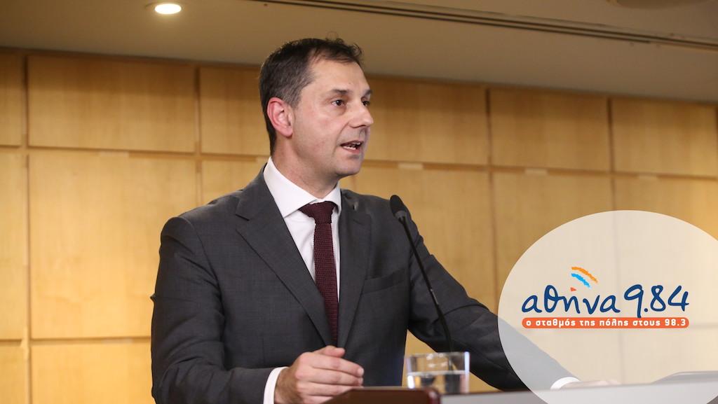 Ο Υπουργός Τουρισμού, κ. Χάρης Θεοχάρης στον Ρ/Σ Αθήνα 984