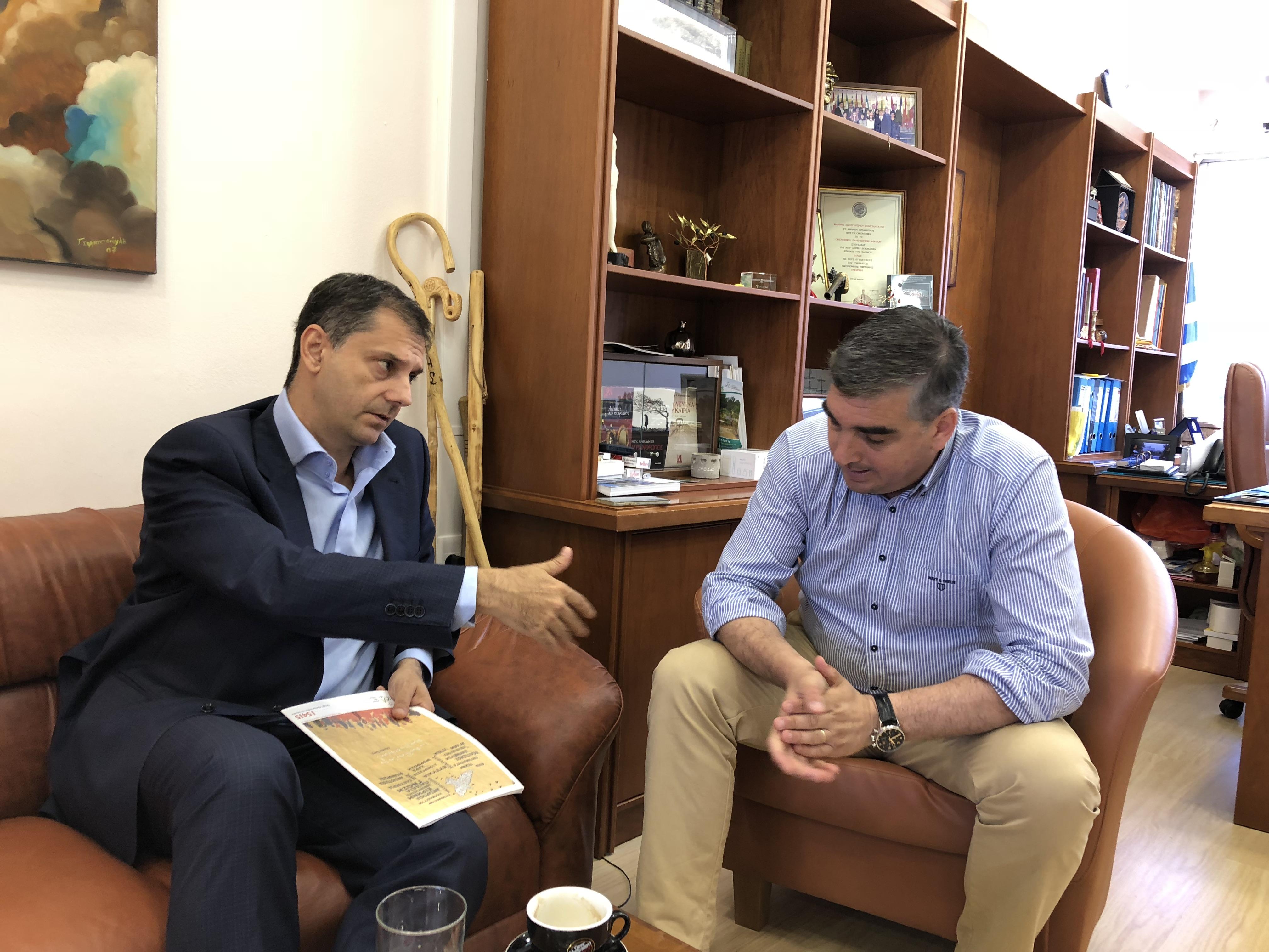 Συνάντηση για την επένδυση στο Ελληνικό.