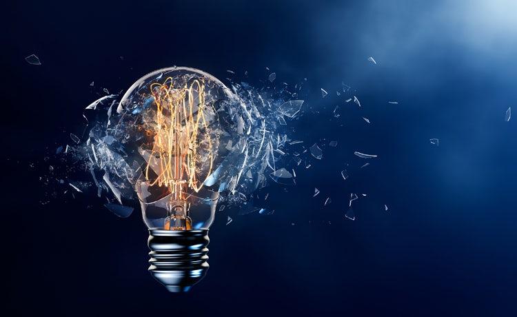 Lightbulb Explode Innovation 750