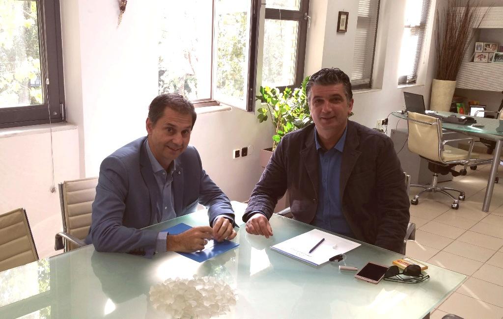 Συνάντηση με τον Δήμαρχο Βριλησσίων.