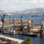 Κρίσιμη κατάσταση στα ναυπηγεία Ελευσίνας.