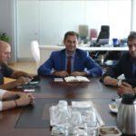 Συνάντηση με τον πρόεδρο των Επαγγελματιών και Βιοτεχνών Σαμοθράκης