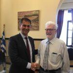 Συνάντηση με τον Δήμαρχο Ιωαννίνων Μωυσή Ελισάφ