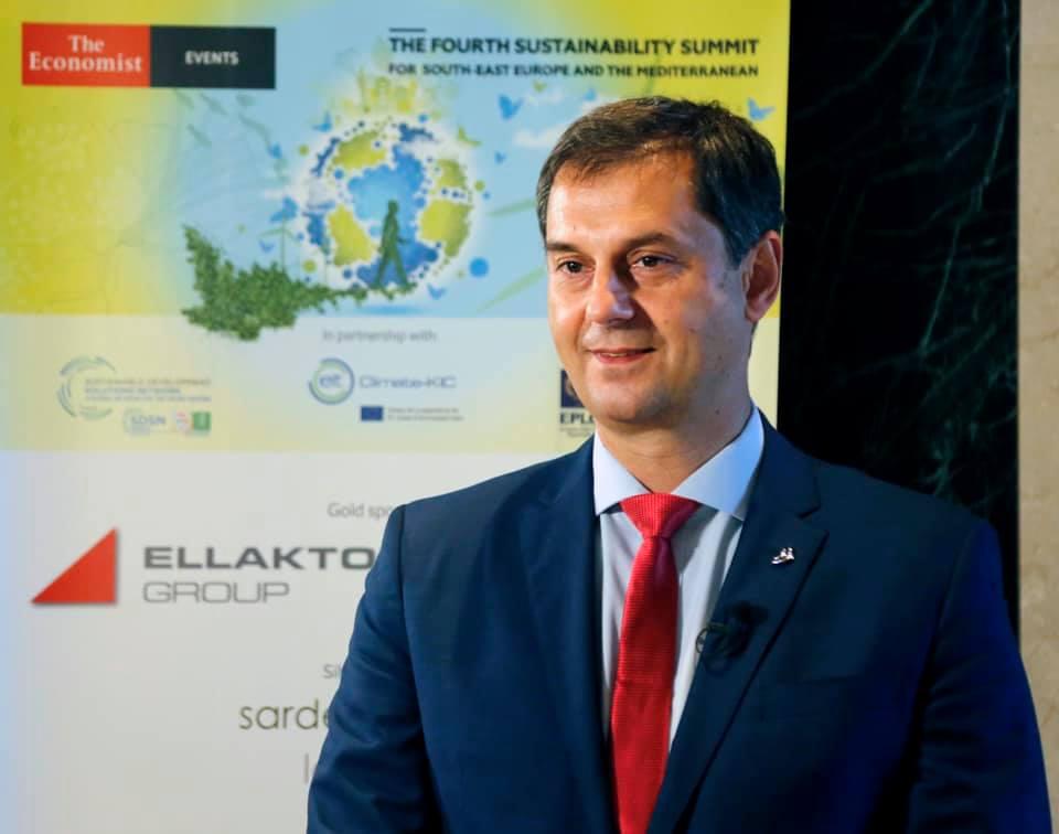 4ο Συνέδριο του Economist για τη Βιώσιμη Ανάπτυξη