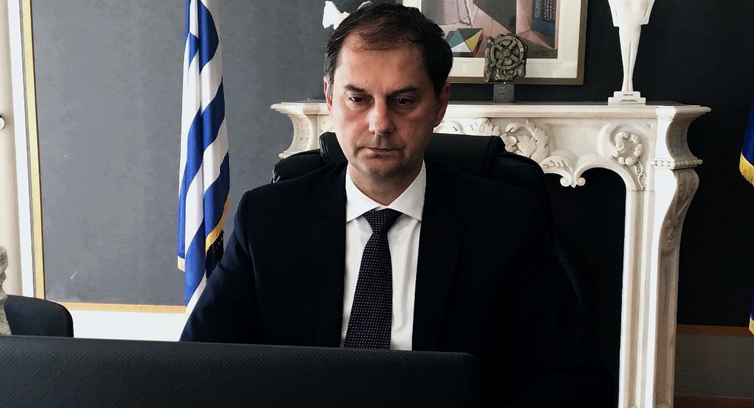Ο Υπουργός Τουρισμού, κ. Χάρης Θεοχάρης στον ΣΚΑΙ