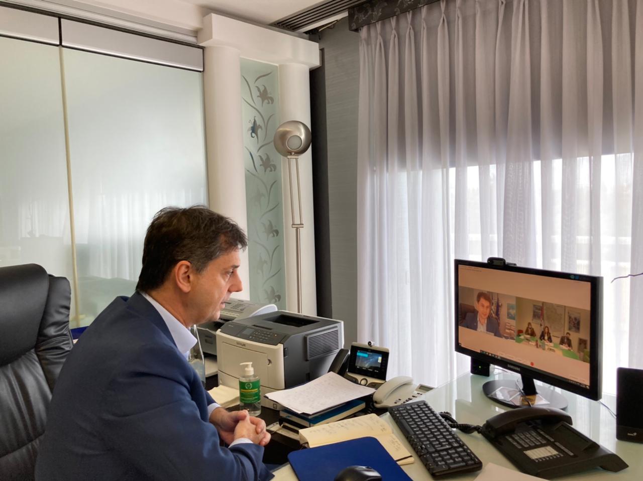 Τηλεδιάσκεψη του Υπ. Τουρισμού με την Υπουργό Εμπορίου, Τουρισμού και Τηλεπικοινωνιών της Σερβίας
