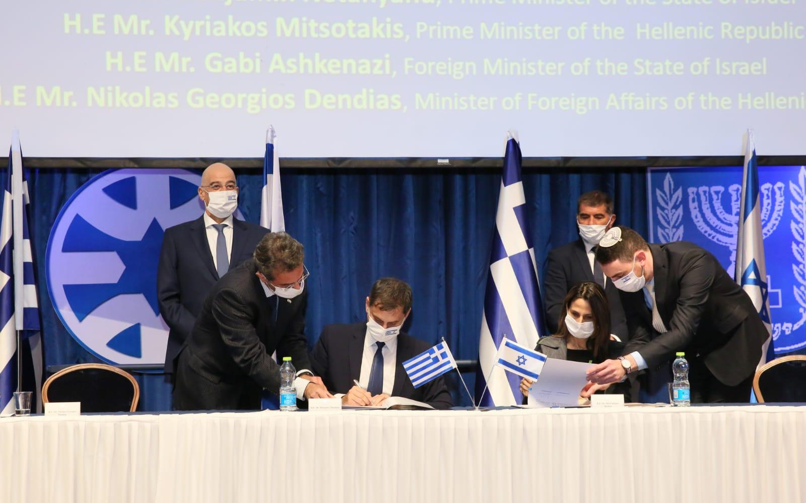 Συμφωνία Ελλάδας-Ισραήλ για τη στρατηγική συνεργασία στον τουρισμό υπέγραψε ο Υπουργός Τουρισμού κ. Χάρης Θεοχάρης