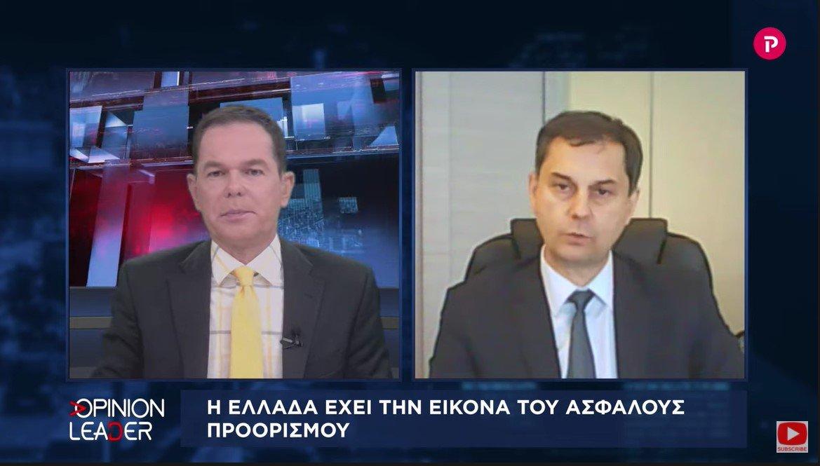 Χάρης Θεοχάρης στο Pagenews.gr: Η Ελλάδα έχει την εικόνα ασφαλούς προορισμού