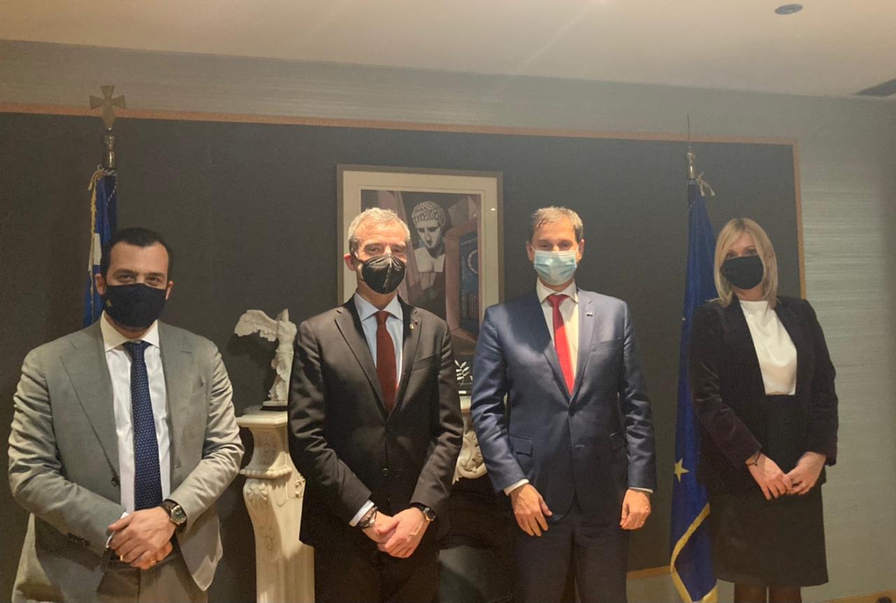 Συνάντηση του Υπ. Τουρισμού με το Δήμαρχο Θεσσαλονίκης κ. Κωνσταντίνο Ζέρβα