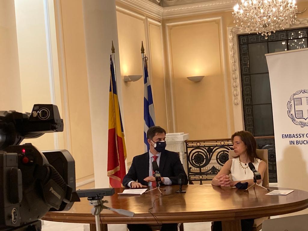 Σημεία ομιλίας Υπουργού Τουρισμού Χάρη Θεοχάρη στην εκδήλωση της Πρεσβείας της Ελλάδας στη Ρουμανία για τα 200 χρόνια από την Ελληνική Επανάσταση 1821-2021, Βουκουρέστι 18/3/2021
