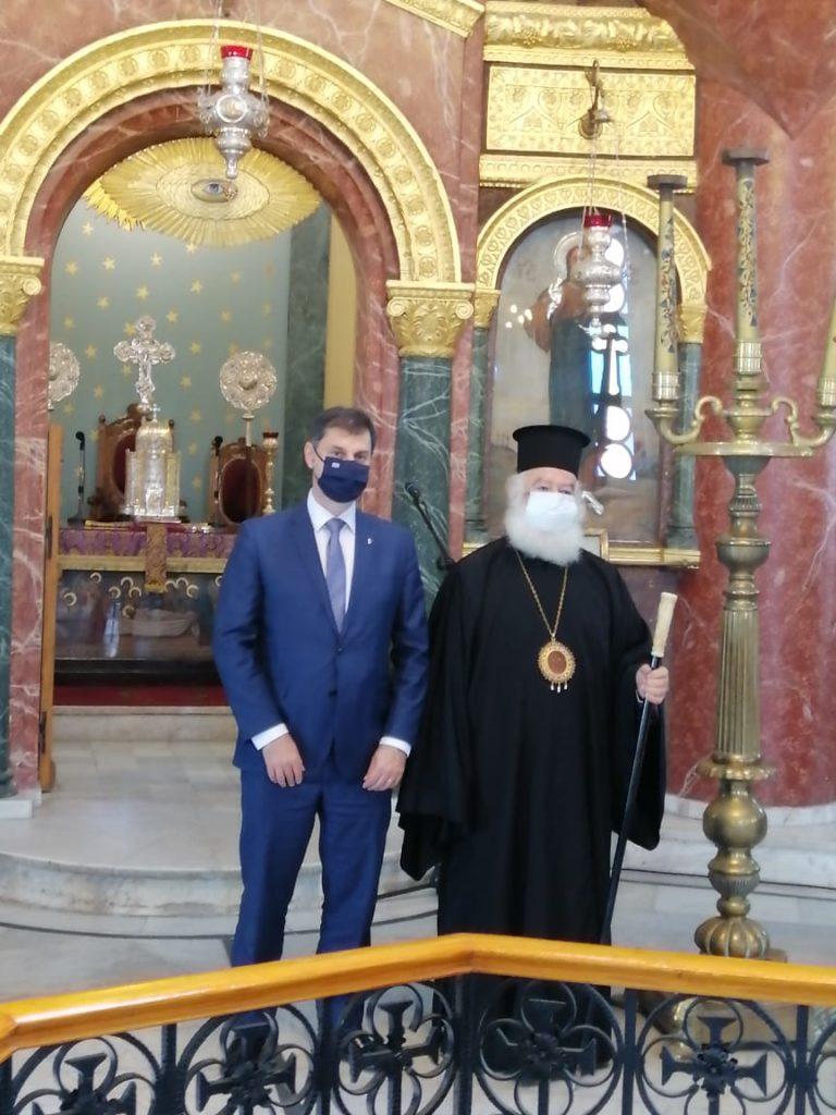 Ο Υπουργός Τουρισμού κ. Χάρης Θεοχάρης στην Αίγυπτο