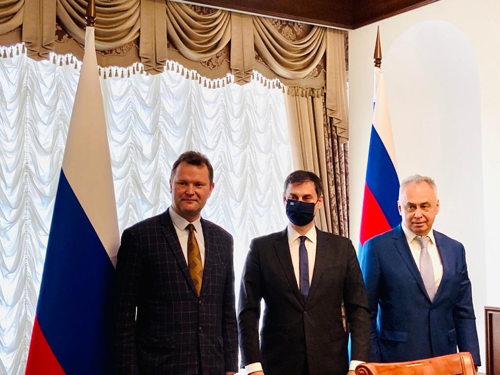 Ο Υπουργός Τουρισμού κ. Χάρης Θεοχάρης στη Μόσχα