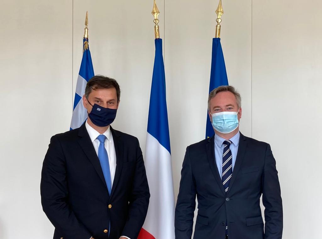 Επίσκεψη του Υπουργού Τουρισμού κ. Χάρη Θεοχάρη στη Γαλλία