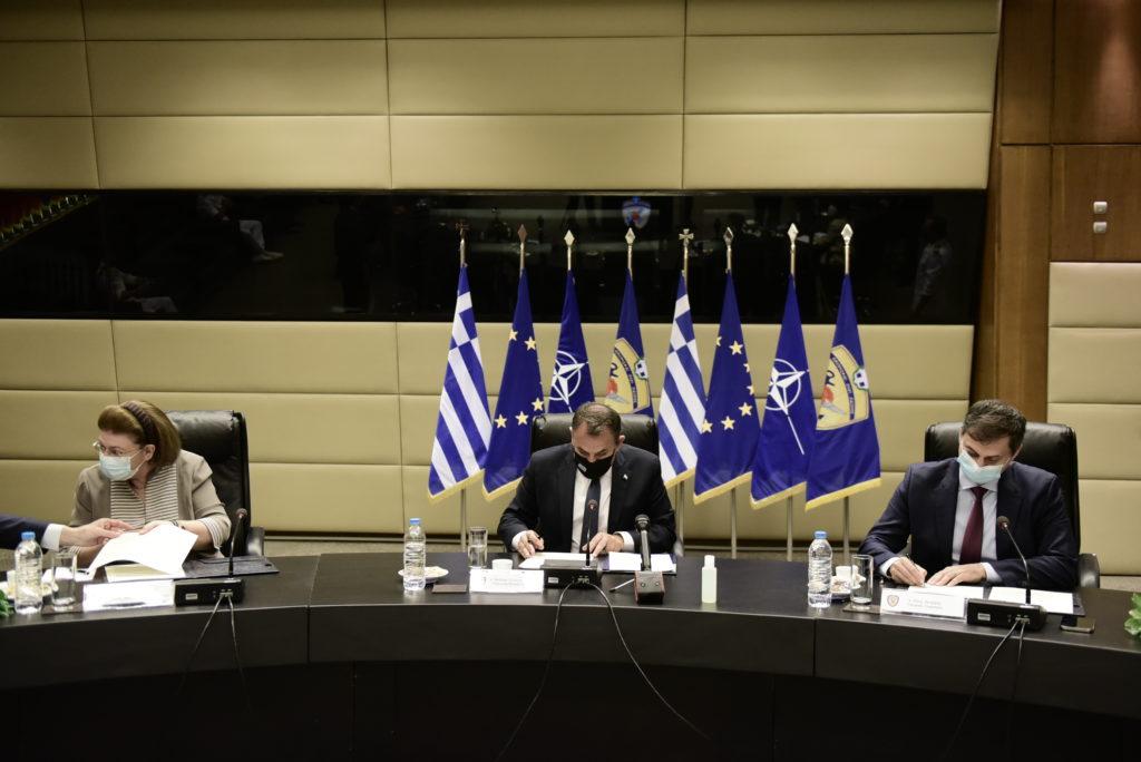 Υπογραφή Μνημονίου Συνεργασίας για το στρατιωτικό τουρισμό μεταξύ των Υπουργείων Άμυνας, Πολιτισμού & Τουρισμού